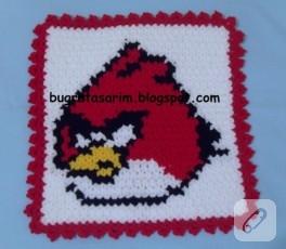 Angry Birds motifli çocuk lifi