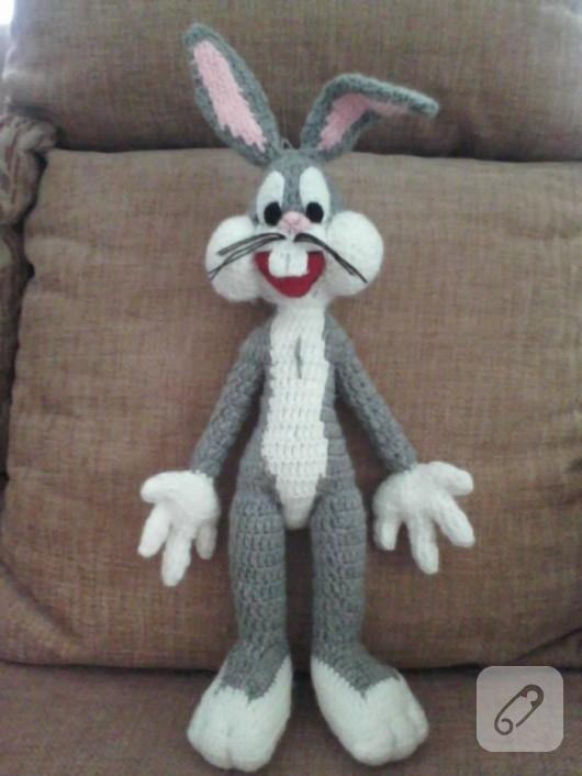 Örgü oyuncak Bugs Bunny