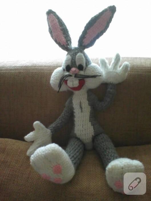 Peluche bugs bunny hecho a mano a ganchillo (amigurumi): Amazon.es ... | 706x530
