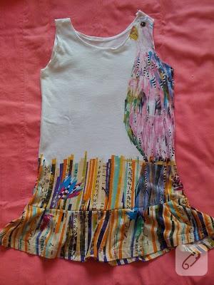 penye çocuk elbisesi