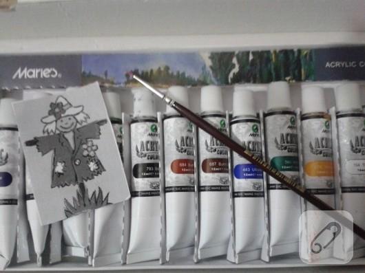 Taş boyama