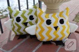 Şirin baykuş yastıklar