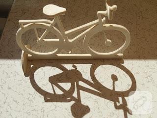 Ahsap oyma bisiklet