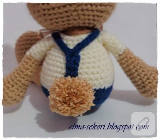Amigurumi) Masum Ayıcık Kulak, Burun Örme ve Birleştirme - Teddy ... | 465x530