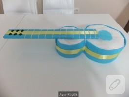 Bebek hediyelikleri gitar bez pasta