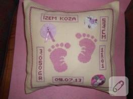 Etaminli bebek hediyelikleri