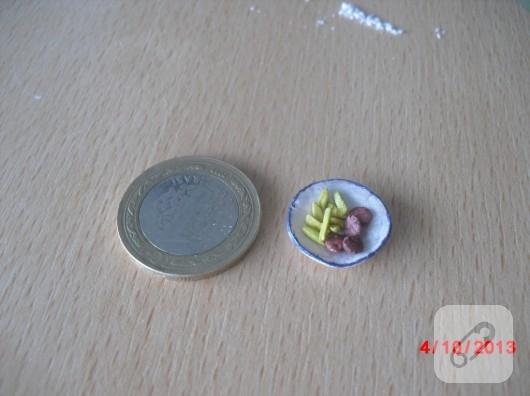 fimo hamurundan minyatür