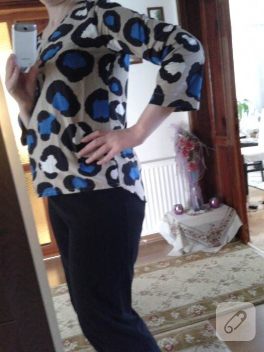 hamile bluzu modeli