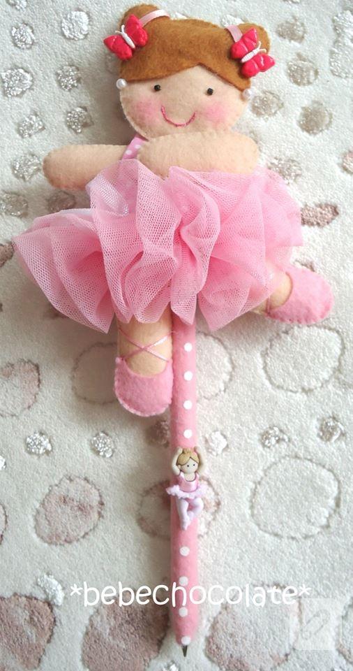 keçe balerin bebek