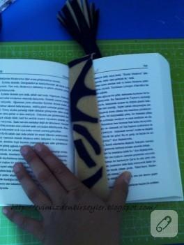 Artık keçelerden kitap ayracı yapımı (anlatımlı)