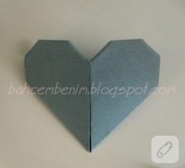 Origami ile kolay kitap ayracı