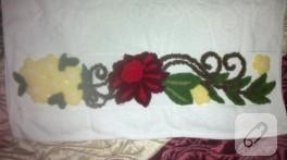 Panç işi havlu kenarı modelleri