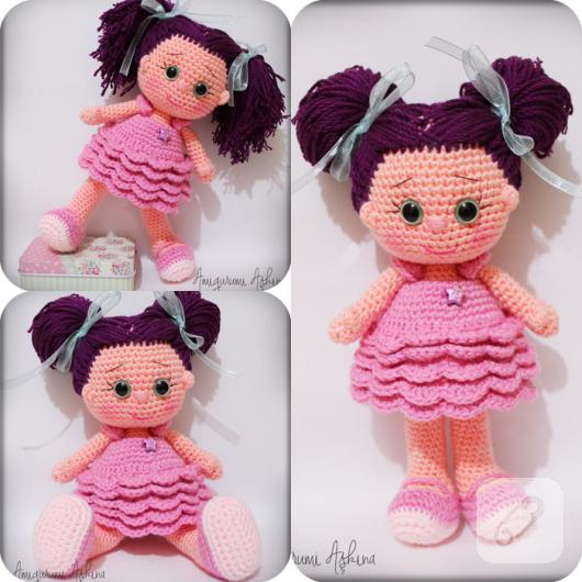Niloya Amigurumi Free Pattern Doll Oyuncak Bebek : Amigurumi y?ld?z bebek 10marifet.org