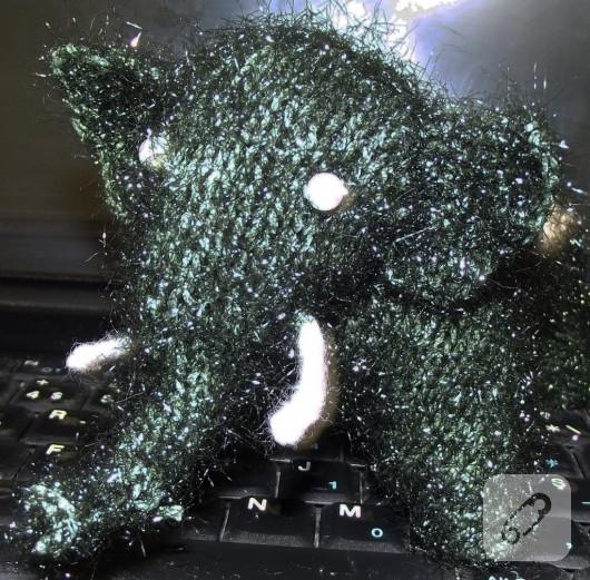 Amigurami oyuncak fil