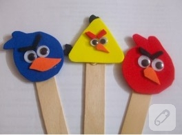 Angry Birds eva kitap ayraçları