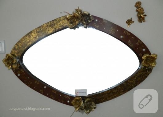 Ayna Süsleme Dekoratif Boyama 10marifetorg