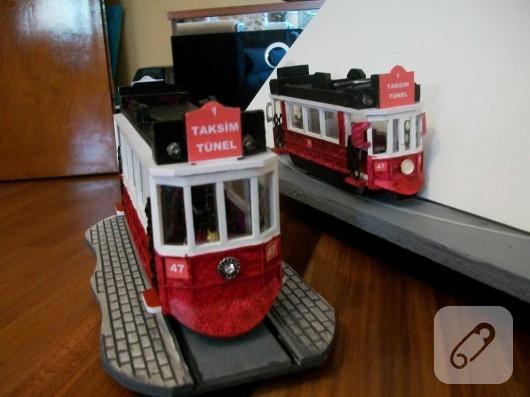 Minyatür tramvay