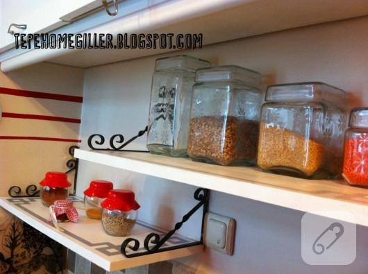 mutfak rafı yenileme