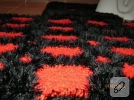 El dokuma polyester klozet takımı