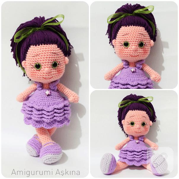 Amigurumi Bebek Tarifi : Amigurumi y ld z bebek marifet