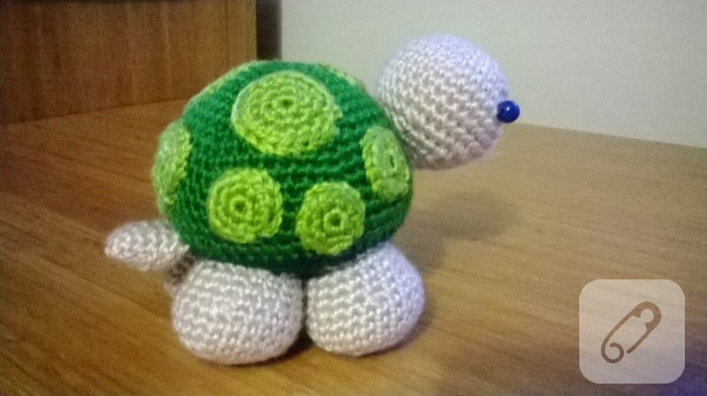 Amigurumi kaplumbaga oyuncak 10marifet.org