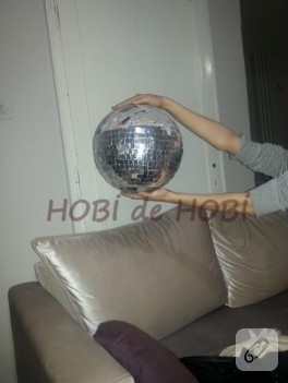 Disko topu yapımı