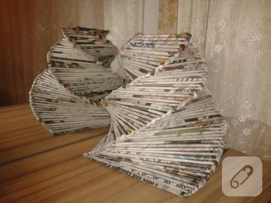 geri-donusum-gazete-kagitlarindan-vazo