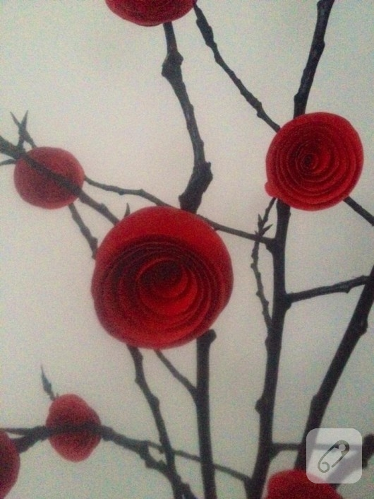 kartondan-dekoratif-guller-