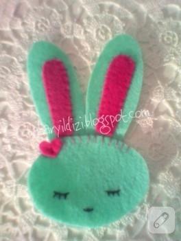 Şirin tavşancık kitap ayracı