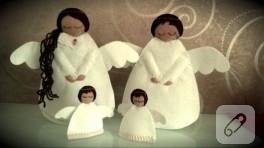 Yılbaşı melekleri – keçe