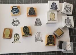Kendin yap örnekleri; Darth Vader damgası