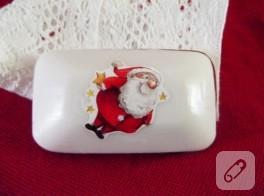 Noel Baba mis kokuyor – sabun süsleme