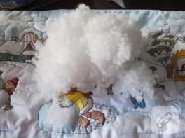 kumaş boyama yastık
