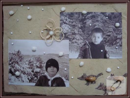 scrapbook fotoğraf albümü yapımı