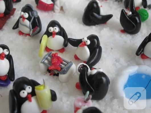 fimodan penguen yapımı