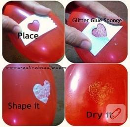Balon üzerine desen nasıl yapılır?