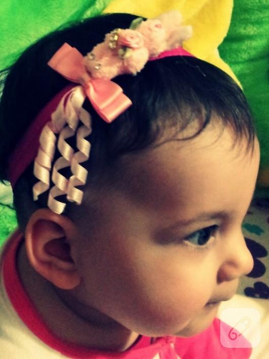 bebek saç bandı