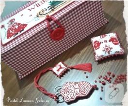 Kırmızı Başlıklı Kız'ın nakış kutusu