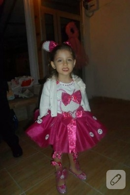 Minnie ve uğur böceği temalı çocuk kostümleri