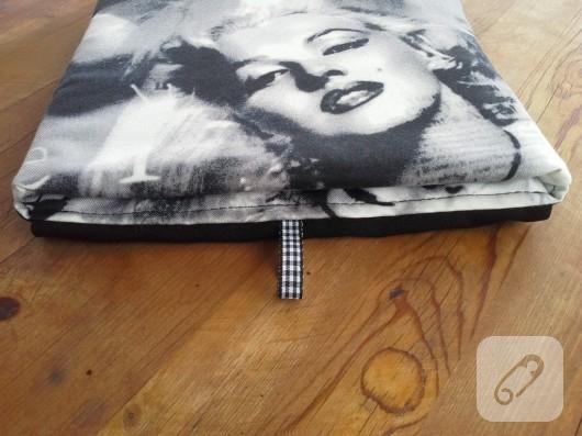 Marilyn Monroe desenli iPad kılıfı