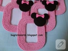 Minie Mouse magnet çerçeve