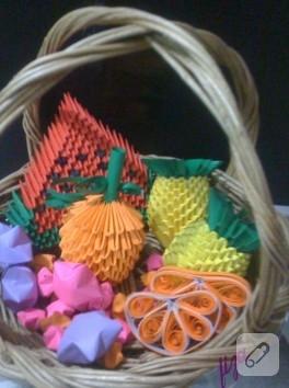 Origami süsler