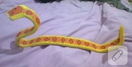 Origamiden yılan