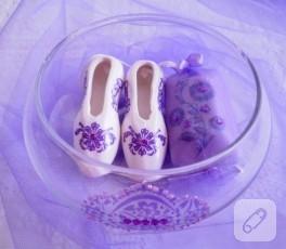 Dekupajlı dekoratif sabun