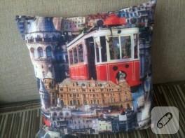 Dijital kumaştan tablo ve yastık