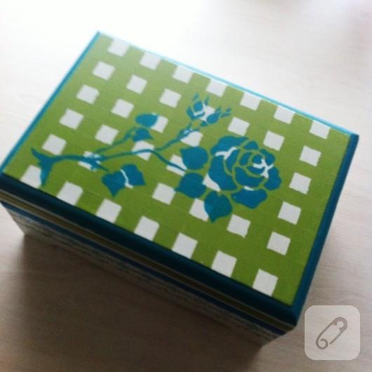 ahşap boyama kutu