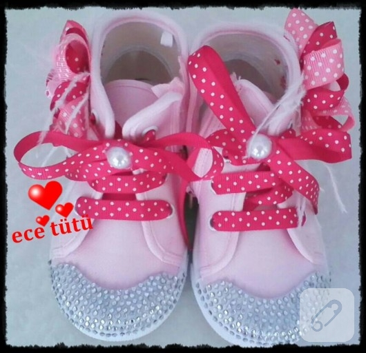 ayakkabı süsleme