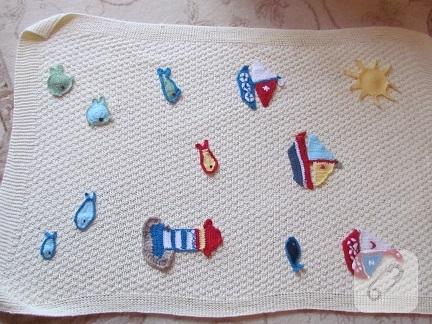 bebek-orguleri-aplikeli-bebek-battaniyesi-modeli