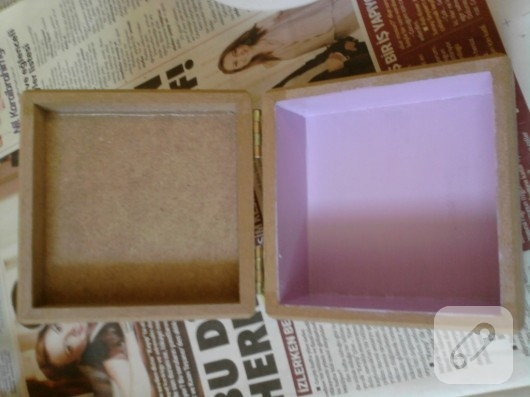 dekupajla kutu süsleme