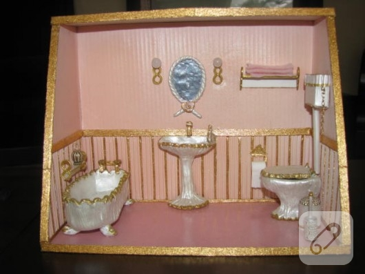 fimo-hamurundan-minyatur-banyo